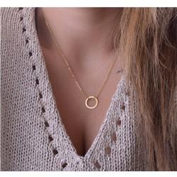 collier anneaux dore le de de gisou