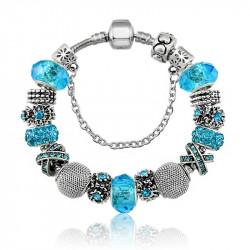bracelet style pandora blue sky le de de gisou