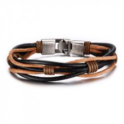 Bracelet homme multitour